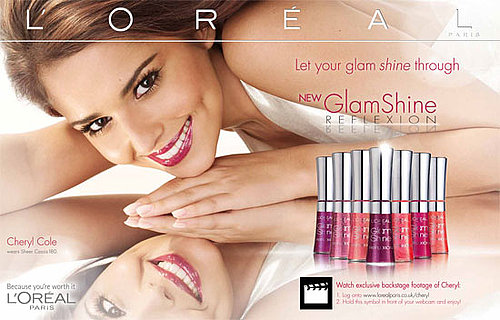 Beauty Byte: Grazia's New Interractive L'Oréal Cheryl Cole Ad!