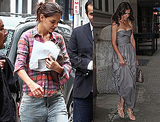 Pictures of Katie Holmes Before The 2010 Tony Awards