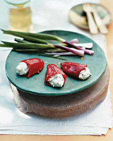 Stuffed Piquillo Peppers With Goat Cheese