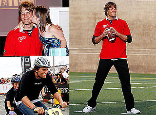 Pictures of Tom Brady Volunteering at the Best Buddies Challenge in Boston