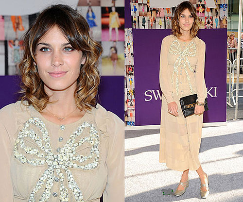Alexa Chung at 2010 CFDA Awards
