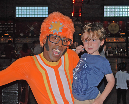 Kiddie Soiree: Party Goers Ga Ga Over Yo Gabba Gabba