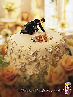 Pics of Slim Fast Wedding Ads