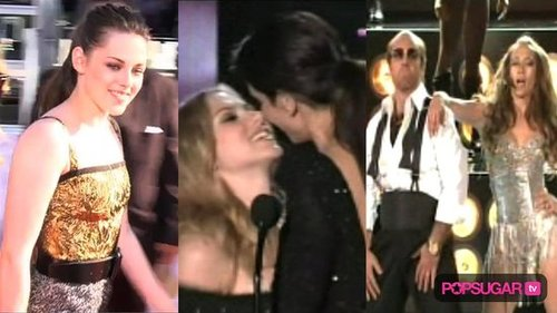 MTV Movie Awards Red Carpet Video, MTV Movie Awards Afterparty Video, Robert Pattinson and Kristen Stewart Kissing 2010-06-07 15:57:26