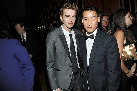 Hayden Christensen, Richard Chai Photo courtesy the CFDA