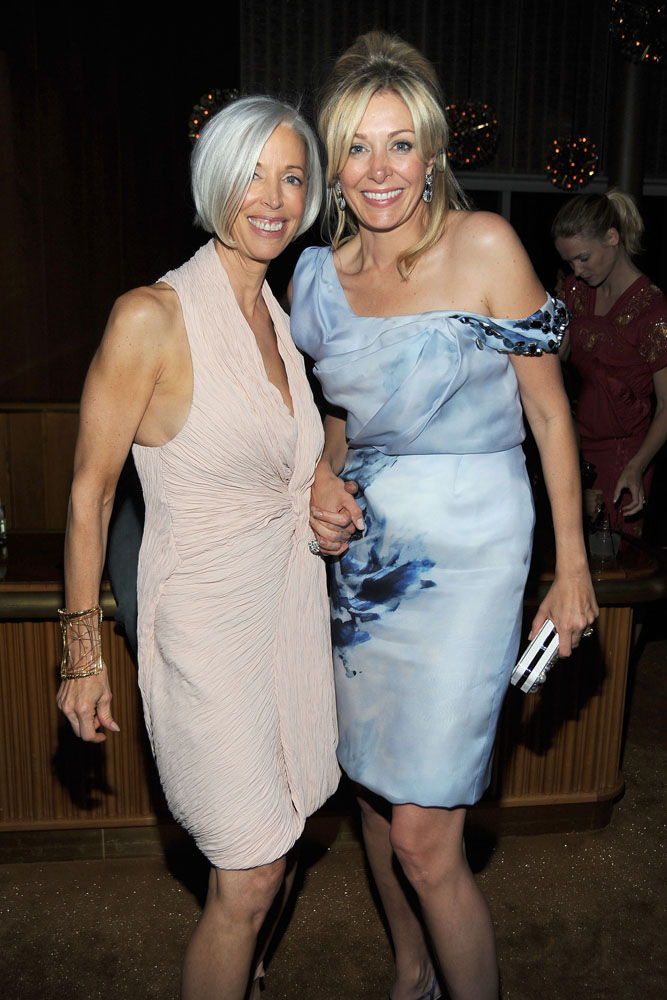 Linda Fargo, Nadja Swarovski Photo courtesy the CFDA