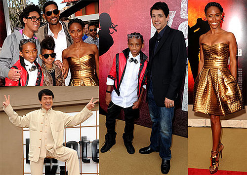 Pictures of Will, Jada, Jaden, Willow Smith From The Karate Kid Premiere 2010-06-08 12:30:00