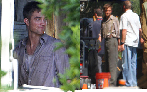 Photos of Robert Pattinson Filming Water For Elephants