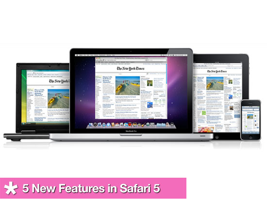 5 New Features in Safari 5