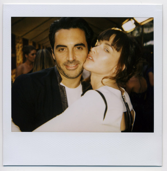Yigal Azrouel makes Paz de la Huerta swoon.