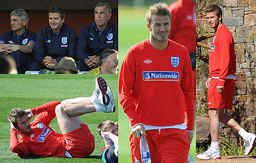 Pictures of David Beckham and England Squad in South Africa for World Cup Inc Steven Gerrard, Ashley Cole, Frank Lampard 2010-06-08 06:00:00