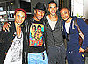 Pictures of JLS at JFK Airport