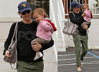 Pictures of Jennifer Garner With Seraphina Affleck in LA