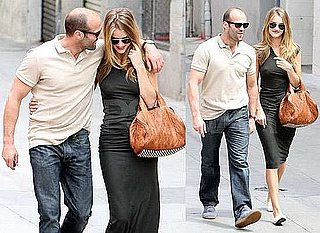 Pictures of Jason Statham and Rosie Huntington-Whiteley Cuddling in LA