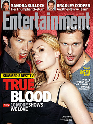 True Blood Entertainment Weekly Cover