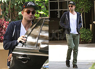 Pictures of Robert Pattinson Before Eclipse Junket Weekend