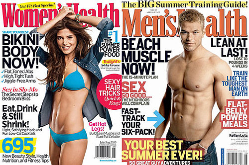 PopSugar Poll: Whose July Cover Is Hotter — Ashley or Kellan's?