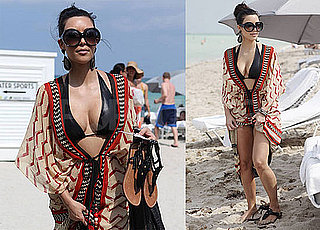 Pictures of Kim Kardashian in Bikini in Miami