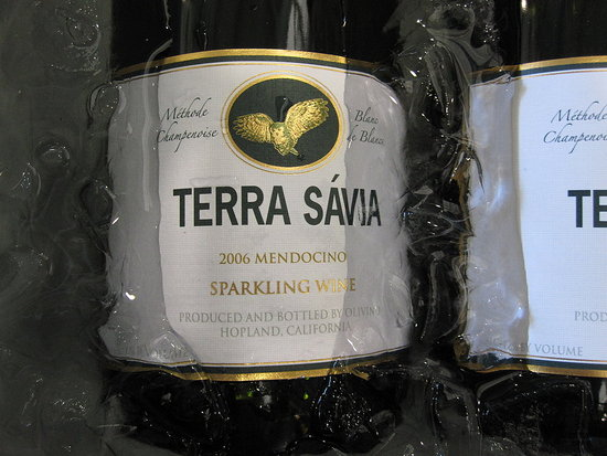 Mendocino County was also largely present at the event. I loved this refreshing sparkler from Terra Savia.
