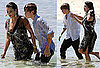 Pictures of Justin Bieber and Kim Kardashian Holding Hands For a Photo Shoot in the Bahamas