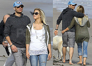Pictures of Ryan Seacrest and Julianne Hough As A Couple in Malibu