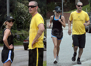 Pictures of Reese Witherspoon And Boyfriend Jim Toth Running in LA