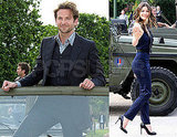 Pictures of Bradley Cooper and Jessica Biel Promoting The A-Team in Paris