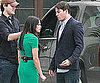 Slide Picture of Channing Tatum and Jenna Dewan Filming in LA