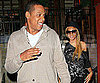 Slide Picture of Jay-Z and Beyonce Knowles at Dinner in New York