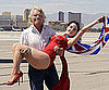 Slide Picture of Dita Von Teese and Richard Branson in Las Vegas