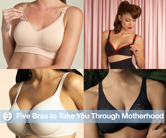 Five Bras to Take You Through Motherhood