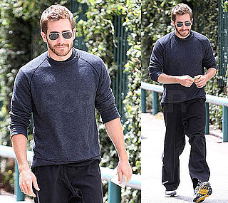 Pictures of Jake Gyllenhaal With A Beard in LA