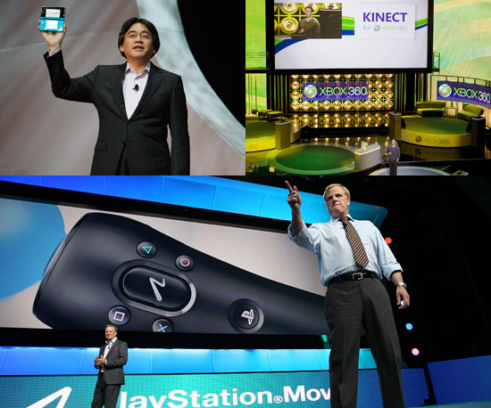 Nintendo 3DS, Kinect, and PlayStation Move E3 2010 News