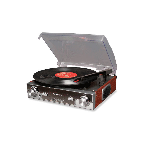 Crosley iPod-Ready Turntable ($73)