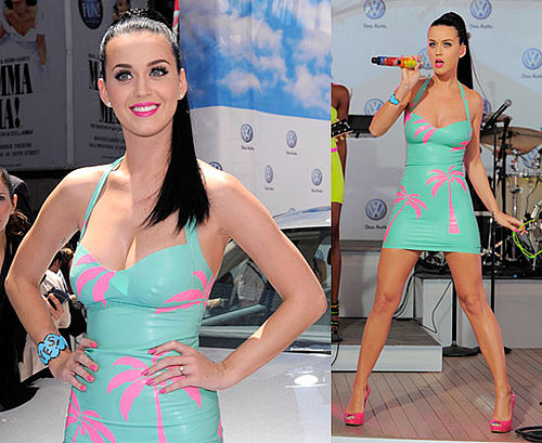 Watch Katy Perry Nude California Gurls Official Video HQ, Pictures of Katy Perry Performing at Volkswagen's Jetta Launch in NYC