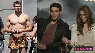 Video of Kellan Lutz Shirtless
