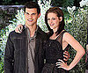 Slide Picture of Taylor Lautner and Kristen Stewart at Eclipse Photo Call in Rome