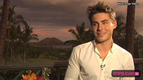 Zac Efron Maui Film Festival and Broadway Dreams