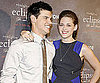 Slide Picture of Kristen Stewart and Taylor Lautner at Eclipse Press Event in Berlin