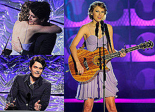 Pictures of John Mayer Presenting Taylor Swift a Songwriters Award in NYC 2010-06-18 13:30:00