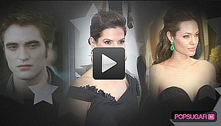 Video: PopSugar 100 Movers and Shakers — Twilight, Sandra vs. Rob, and Angelina Left Out!