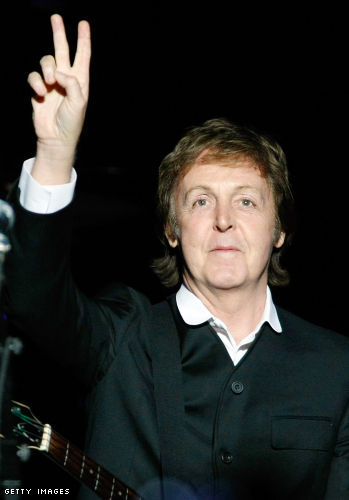 Happy 68th birthday Paul McCartney!