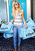 Photos of Paris Hilton with Loads of Kitson Shopping Bags