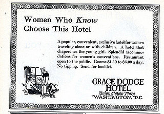 Vintage Ad For Womens Only Hotel