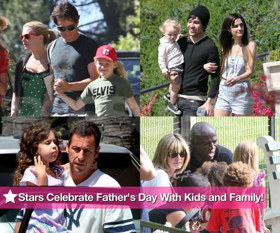 Stars Celebrate Father's Day With Kids and Family!