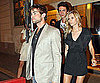 Slide Picture of Chace Crawford Leaving Bar With Elizabeth Minett