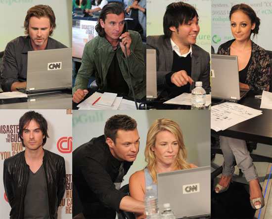 Pictures of Ryan Seacrest, Nicole Richie, Jenny McCarthy, Pete Wentz, Ian Somerhalder, and Alyssa Milano at Gulf Telethon 2010-06-22 23:30:11.1