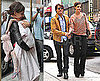 Pictures of Tom Cruise, Katie Holmes, and Magic Marker-Covered Suri Cruise in NYC