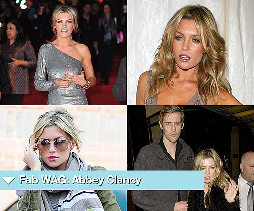Photos of Abigail Clancy England WAG
