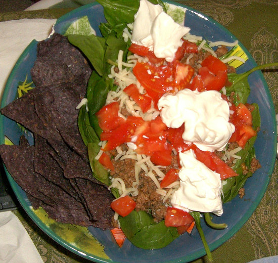 """Nacho Salad"""